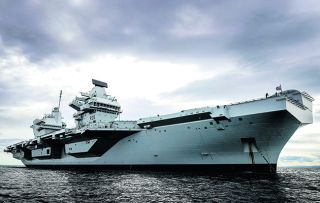 Her Majesty has done her fair share of naming ships, but never one as big as this –HMS Queen Elizabeth, Britain's largest and most advanced warship ever.