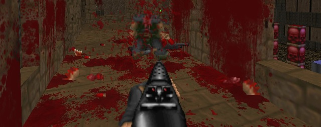 Brutal Doom mod update adds custom fatality animations | PC Gamer