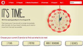 Vodafone killing 3 brand