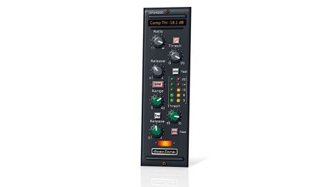 The interface design of DYN4000 actually takes its cues from later re-issue 500 series SSL modules