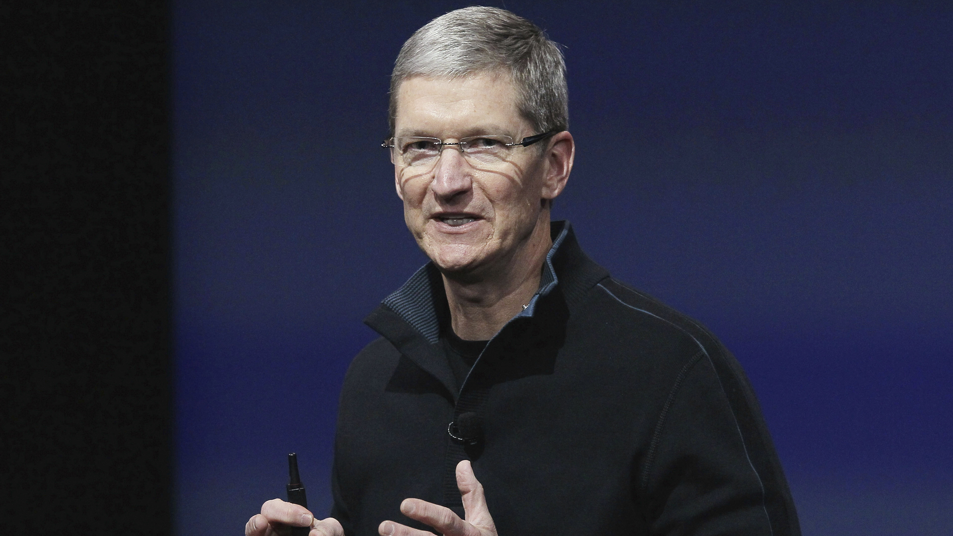 Apple boss Tim Cook sees great potential in augmented reality. Image Credit: Apple.