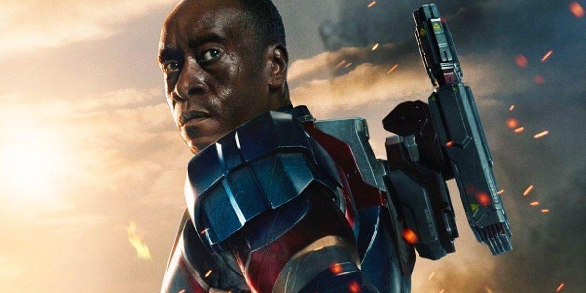 James Rhodes/Iron Patriot (Don Cheadle) on Iron Man 3 poster