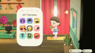Animal Crossing: New Horizons DIY recipes