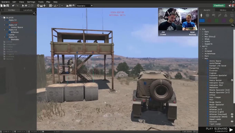 Arma 3's 3D editor gets public beta   PC Gamer