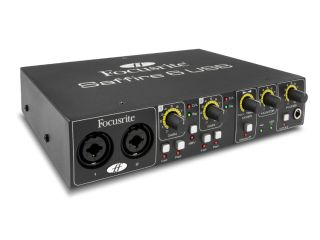 There's no FireWire in the Saffire 6.