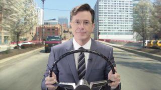 Waze Stephen Colbert