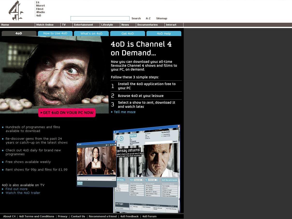Itv Channel 4 Launch Broadband Tv Services Techradar