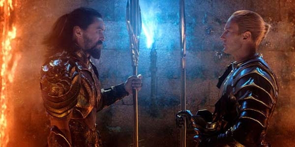 Orm and Arthur Curry in Aquaman 2018