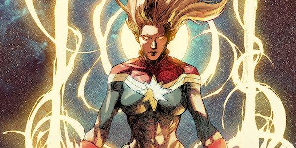 Carol Danvers as Captain Marvel comics