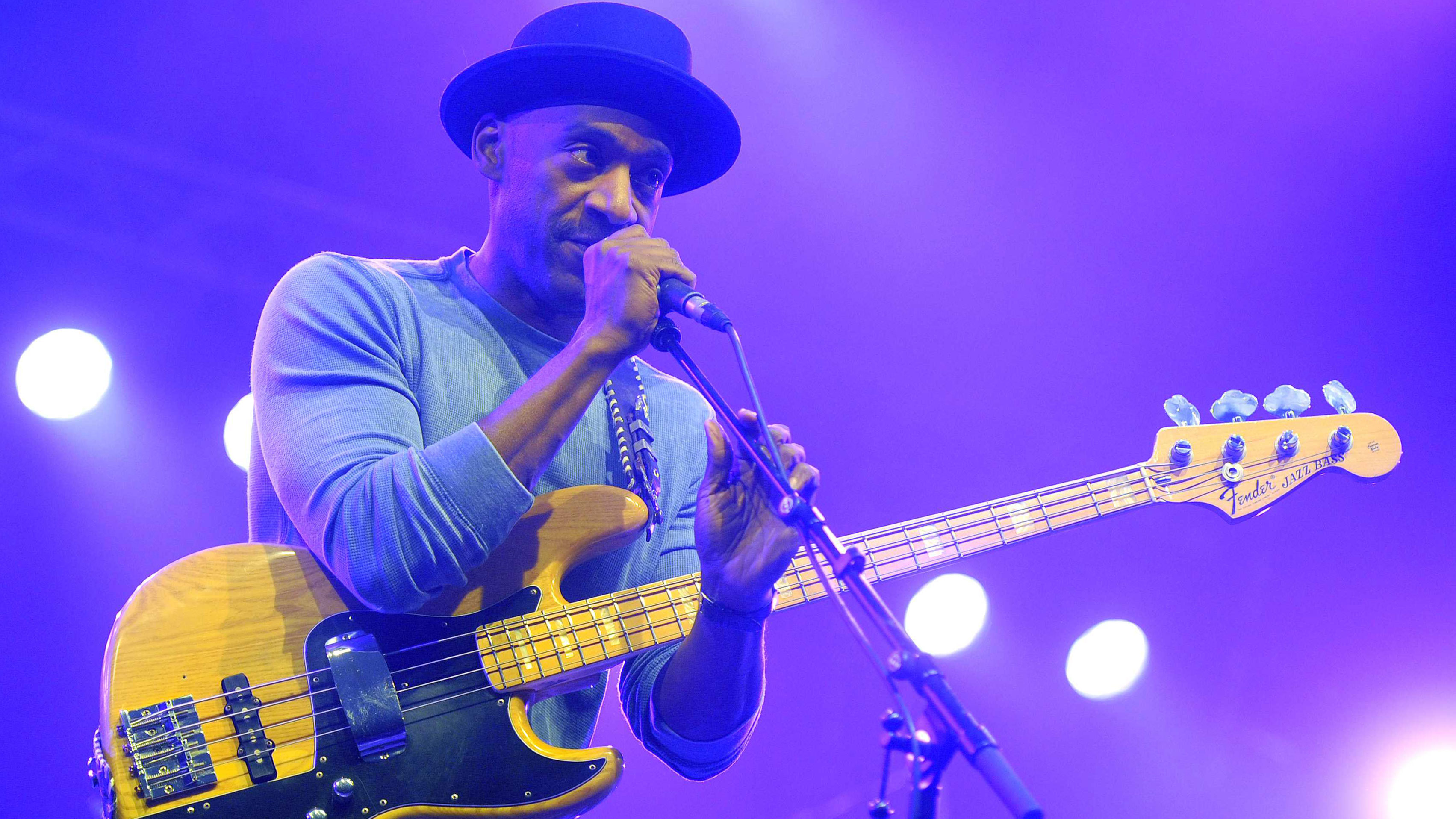 Marcus Miller In Depth Miles Luther Gear Playing Tips And More