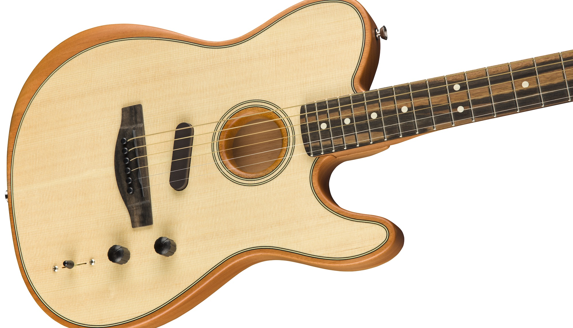Namm 2019 Fender Announces New American Acoustasonic Telecaster