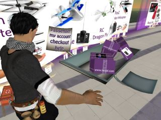 Second Life avatars - the future of shopping?
