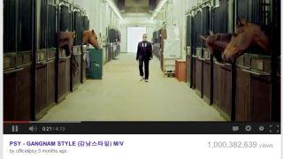 Gangnam Style hits the billion landmark