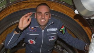 Mark Shuttleworth in space