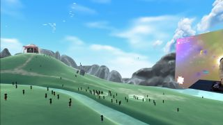 Secret Sky VR festival landscape