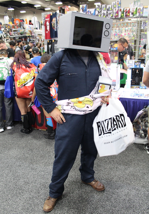 SDCC Costume TV
