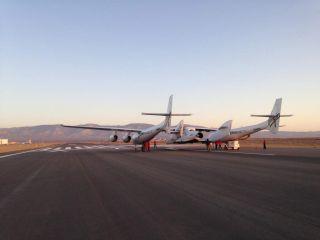 Virgin Galactic Test Flight, April 29, 2013