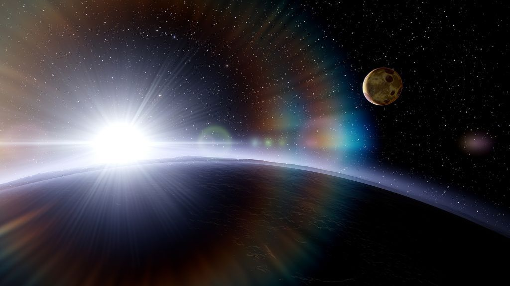 What if Earth shared its orbit with another planet?