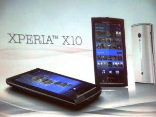 Sony Ericsson unveils the Xperia X10
