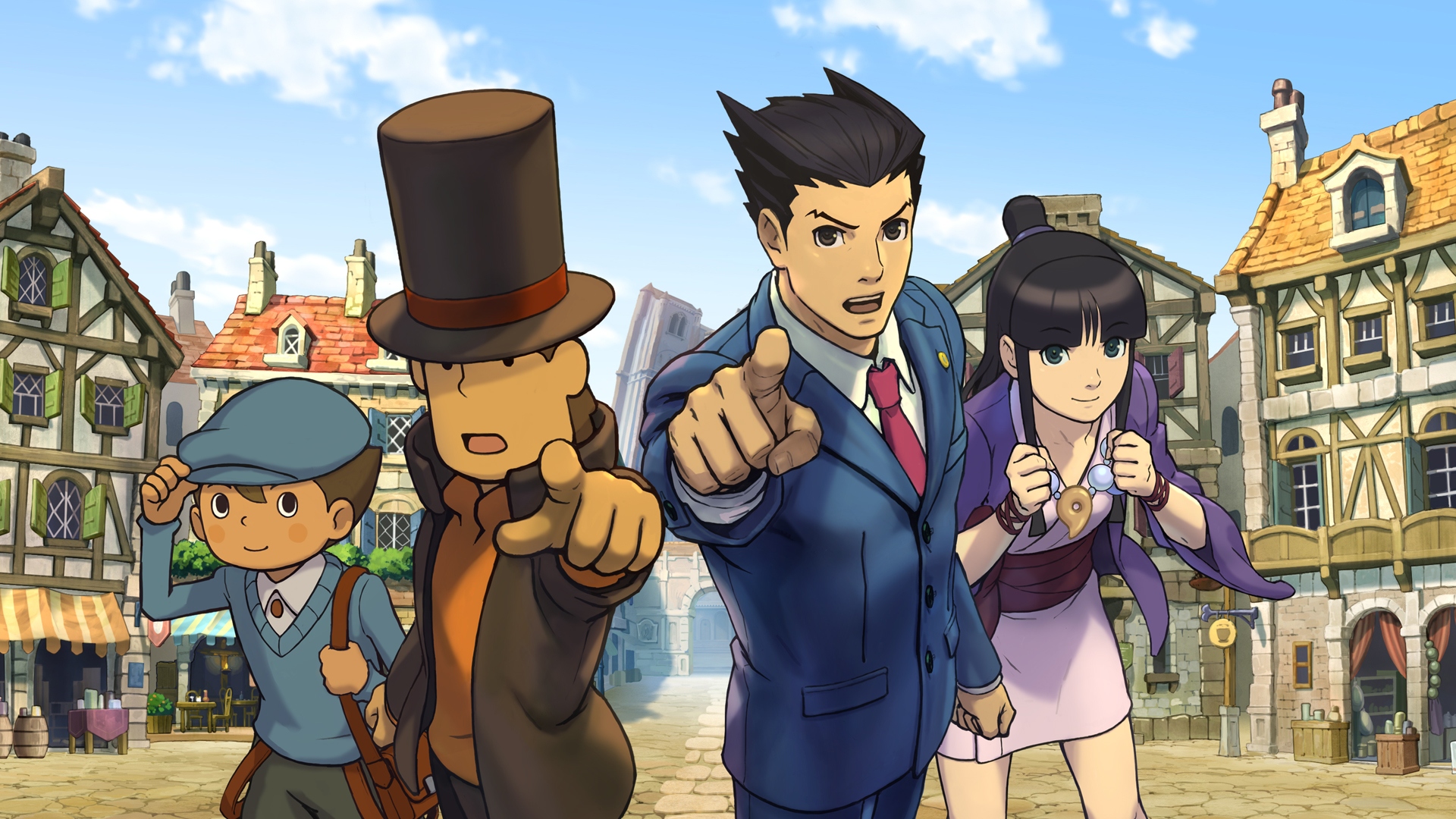 Professor Layton vs Phoenix Wright review | GamesRadar+