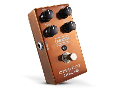 The MXR M84 Bass Fuzz Deluxe offers awesome, reliable bass distortion.