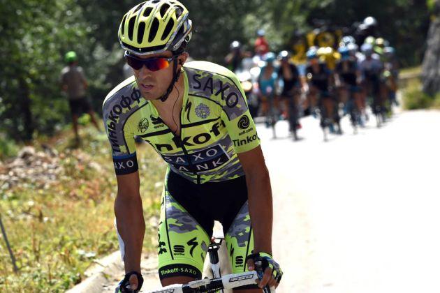 Alberto Contador escapes on stage eighteen of the 2015 Tour de France (Watson)