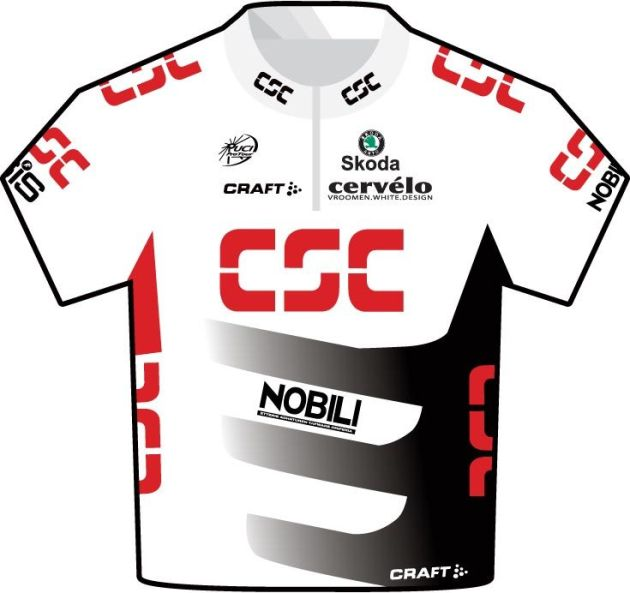 CSC jersey 2008