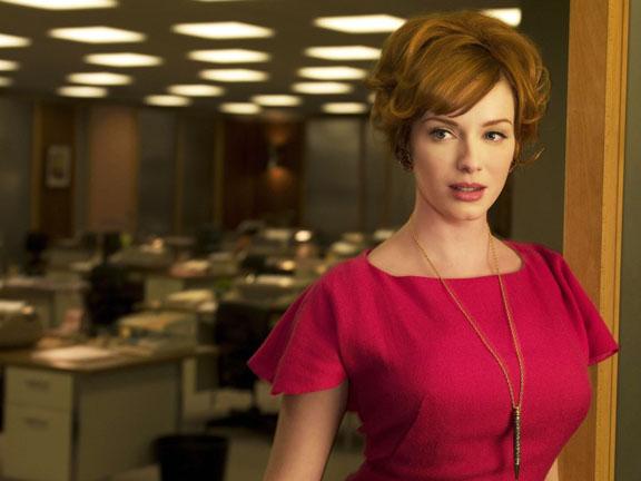 A quick chat with Mad Men's Christina Hendricks