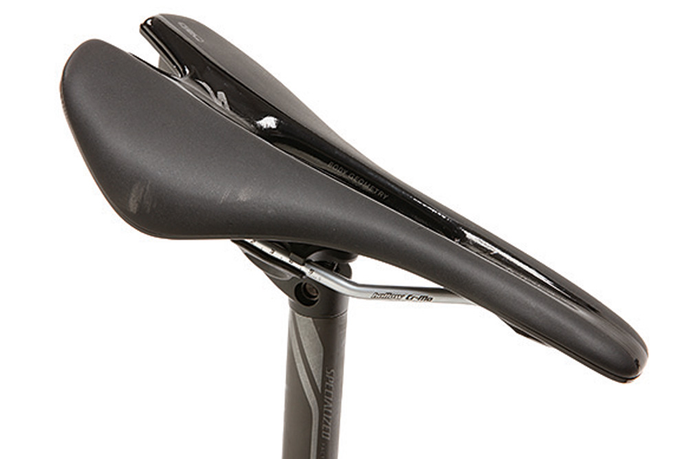 Comfortable Toupe Comp Gel saddle
