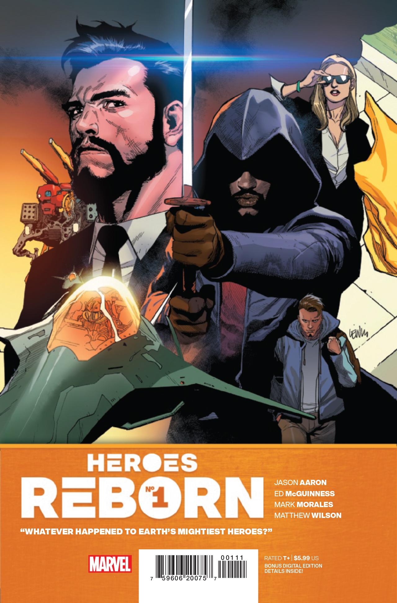 Héroes renacidos # 1