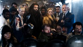 The gang from Snowpiercer in an image from Season 2.