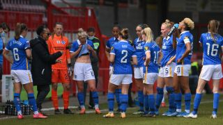 Brighton Women's squad