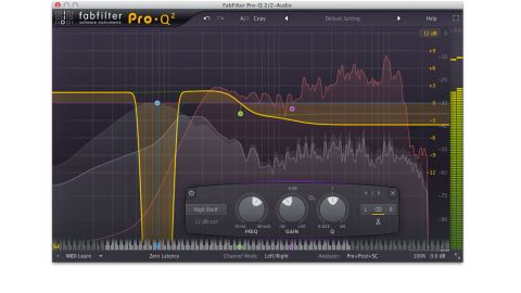 Pro-Q 2's basic functionality is unchanged, but it's new features like Spectrum Grab and EQ Match that impress
