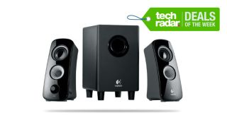 Logitech Z323 Speaker System for only 32 99