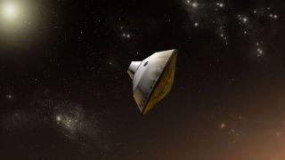 Mars Science Laboratory aeroshell capsule