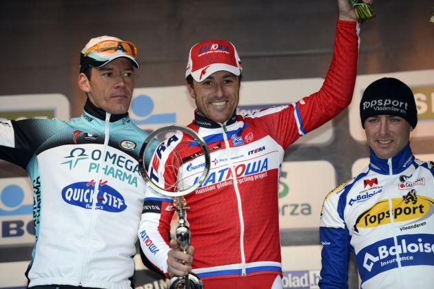 Luca Paolini wins, Omloop Het Nieuwsblad 2013