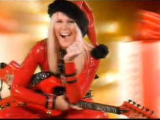 Lita Ford - not the real Santa