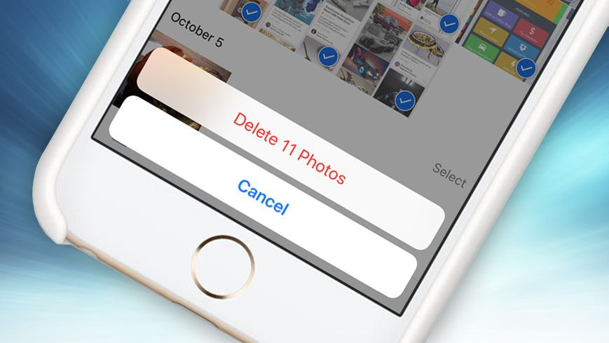 how to delete everything off iphone how to delete all photos from iphone techradar 9860
