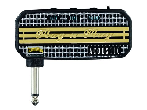 The Plug 'N' Play Acoustic performs well for strummed passages.