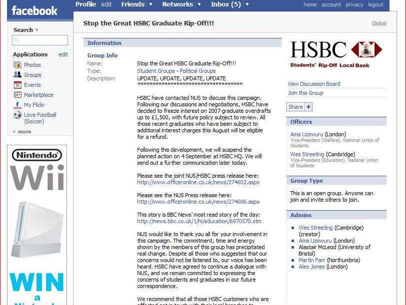 Weird Tech: Facebook forces HSBC to back down | TechRadar