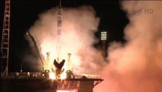 Expedition 35 Launches to International Space Station