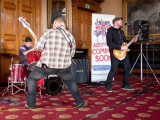Lockin rock the Dewsbury auditions