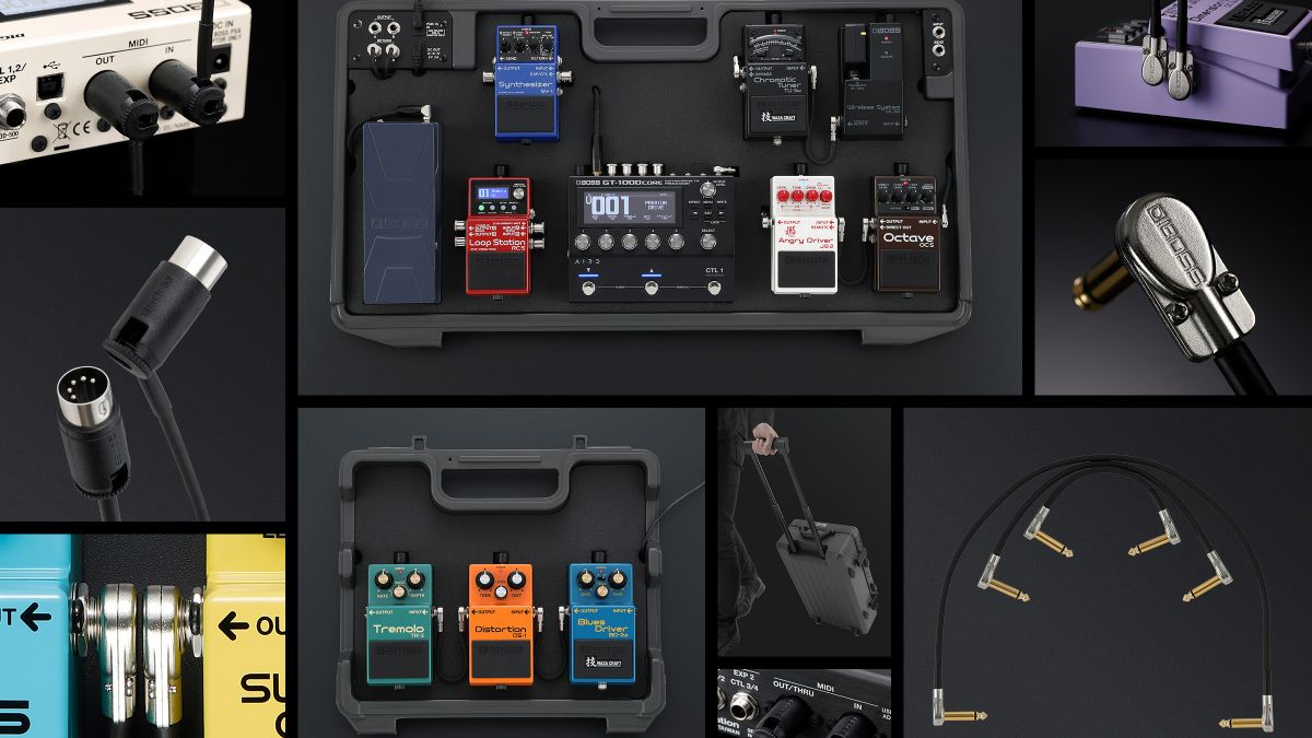 Boss is getting serious about pedalboards with its new BCB range additions