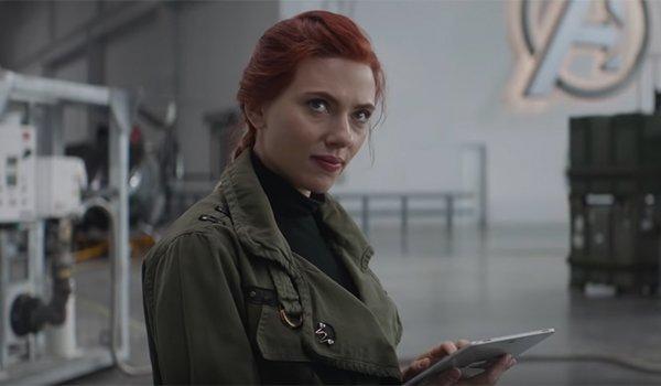 Scarlett Johansson's Black Widow in Avengers: Endgame