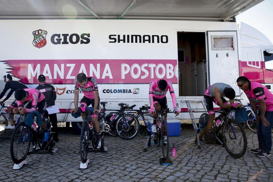 Manzana Postobon team folds after adverse readings