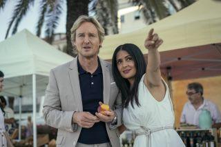 Bliss on Amazon Prime starring Owen Wilson and Salma Hayek