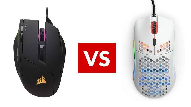 Corsair Sabre RGB vs Glorious Model O