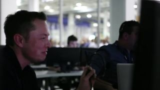 SpaceX CEO Elon Musk after May 22, 2012 Falcon 9 rocket launch