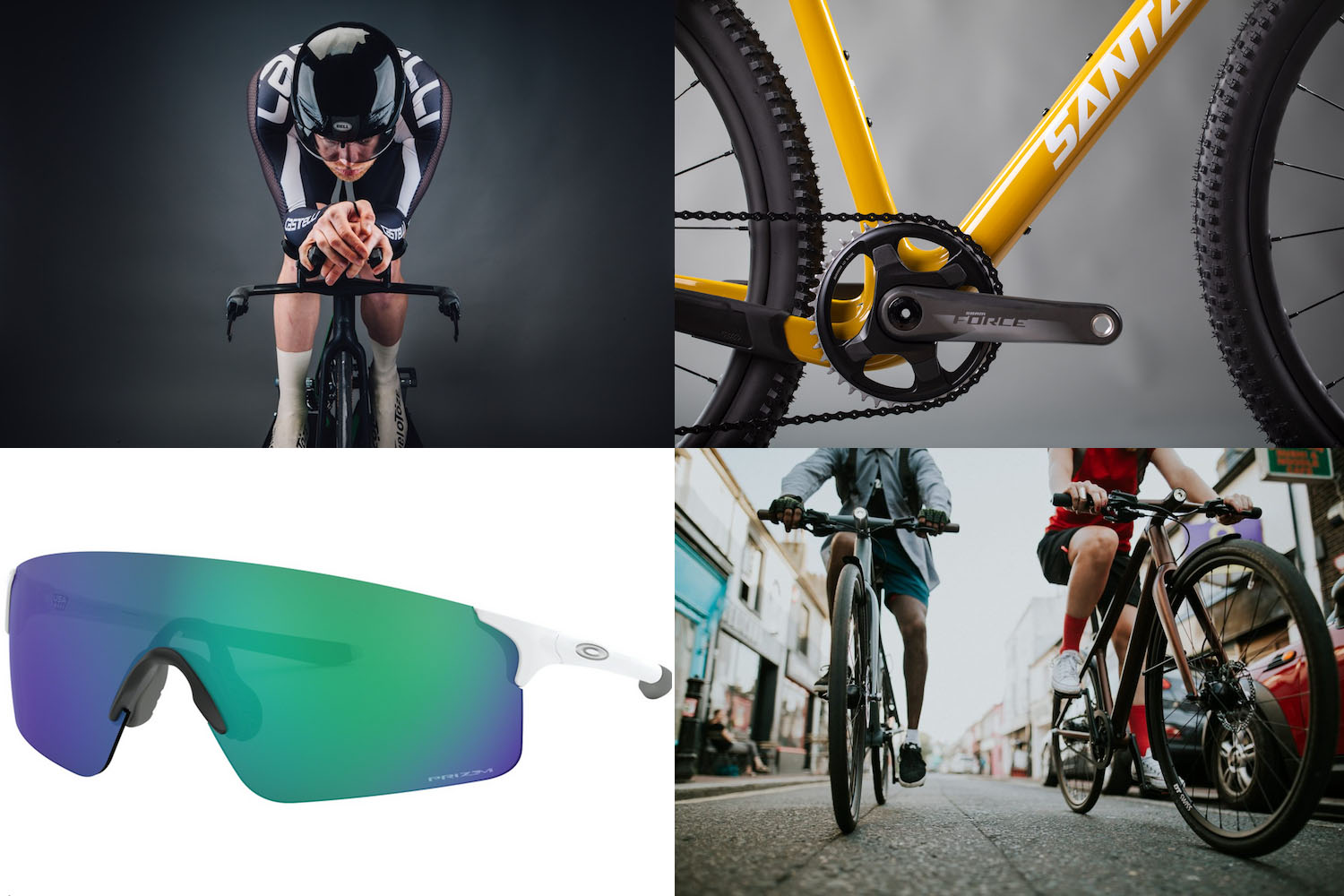 Tech of the week: new bikes from Santa Cruz, new glasses from Oakley and more