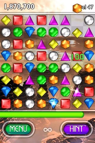 Bejewelled - a hugely profitable iPhone app